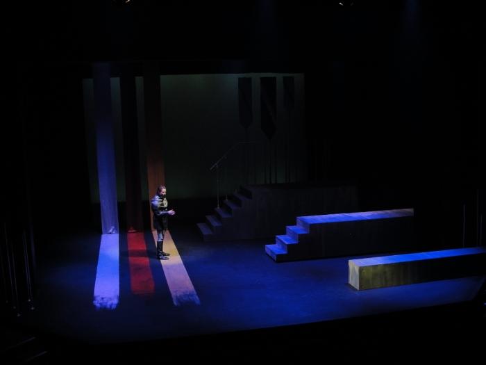 Macbeth sees a dagger.